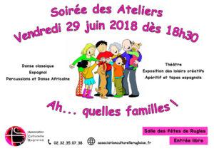 Soirée-des-Ateliers-2018 - ACR Rugles - Association culturelle rugloise