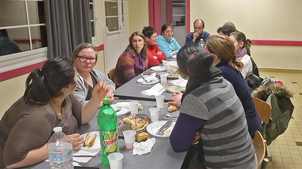 Repas du partage ACR Rugles