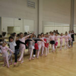 La danse classique se prépare